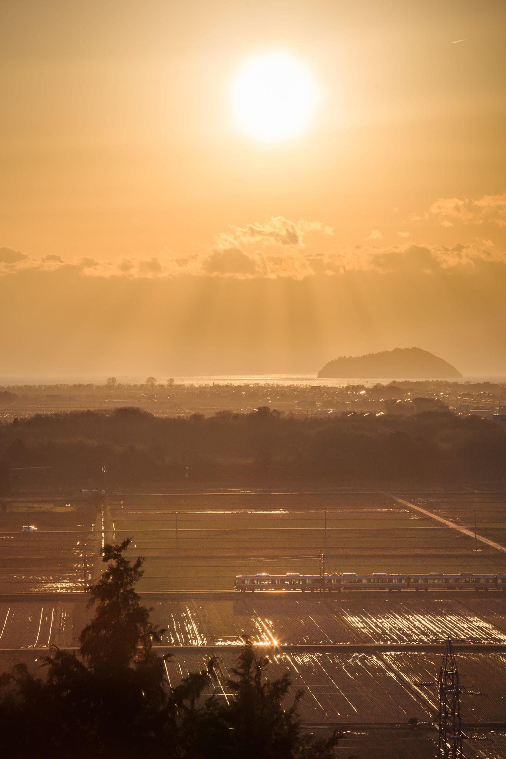 虎御前山(滋賀県長浜市)  観光PR写真撮影の画像