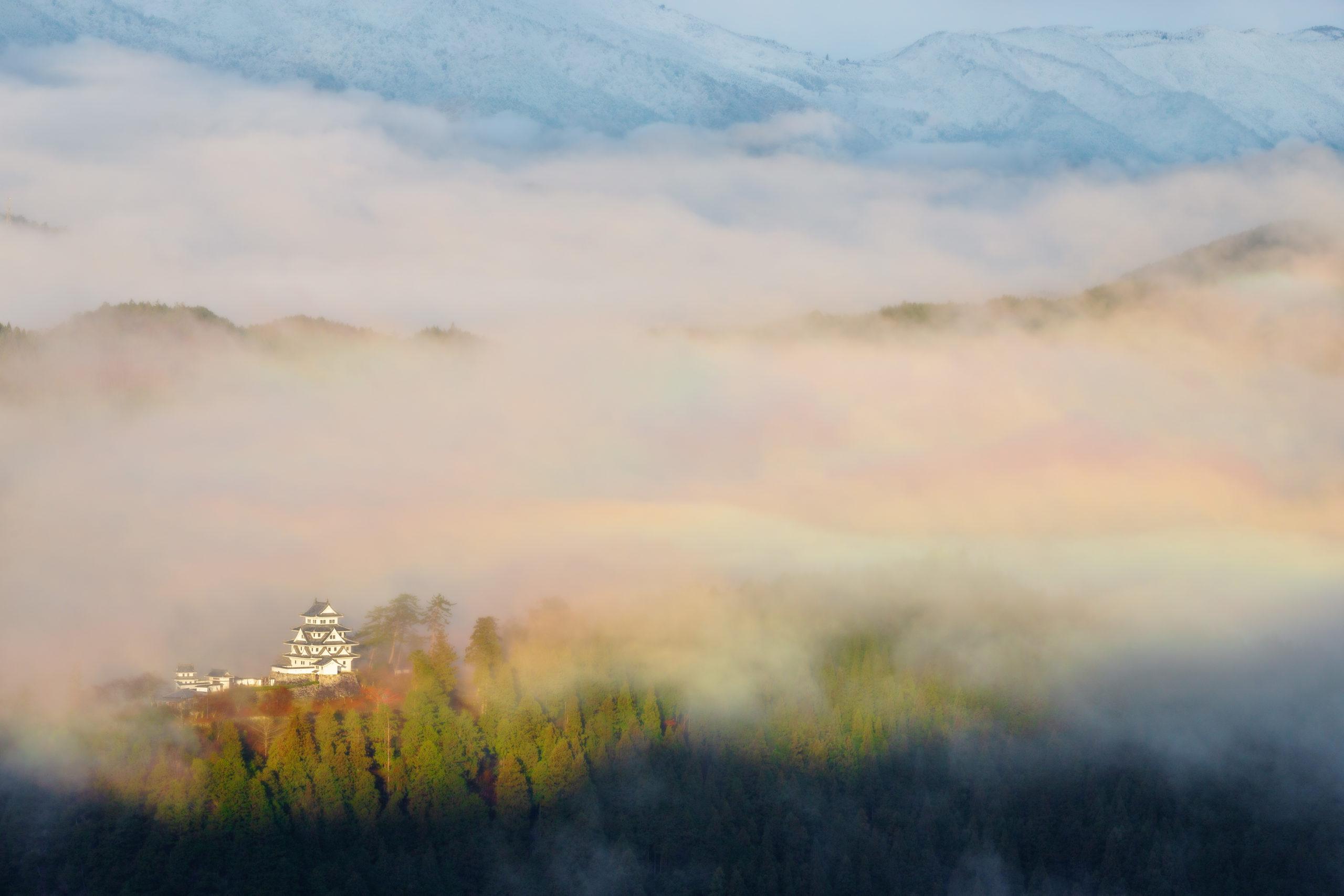 郡上八幡城(岐阜県郡上市)  風景撮影の画像