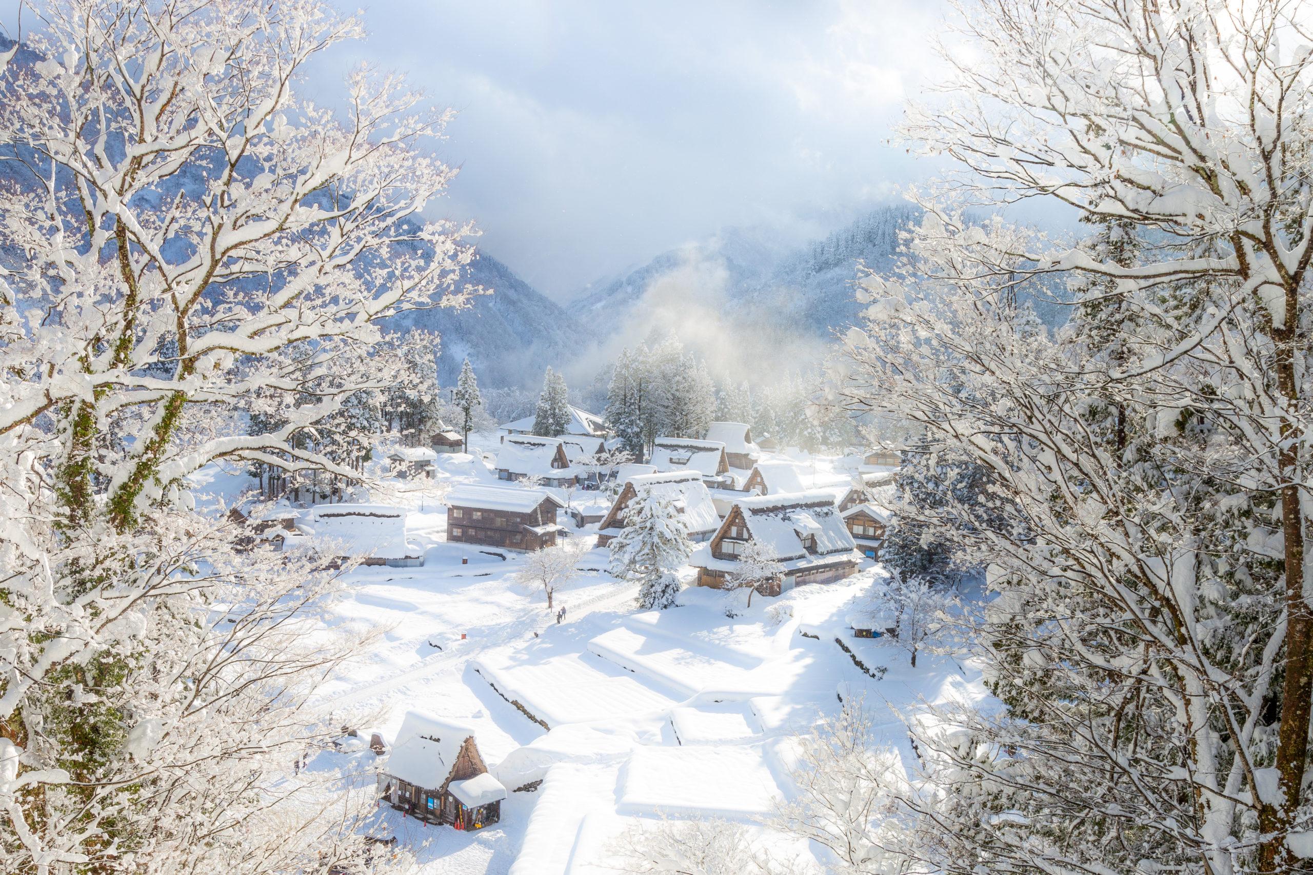 五箇山合掌造り集落(富山県南砺市)| 風景撮影の画像